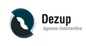 Logo Dezup, Agence interactive